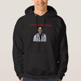 Obamacare Anti Obama Health Care Apparel Hooded Pullover