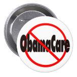 ObamaCare anti - recordaremos en noviembre Pin
