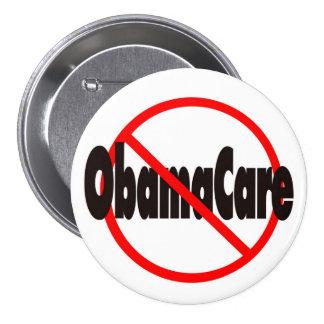 ObamaCare anti - recordaremos en noviembre Pin Redondo 7 Cm