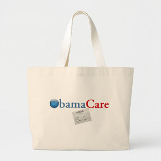 ObamaCare Approved Large Tote Bag