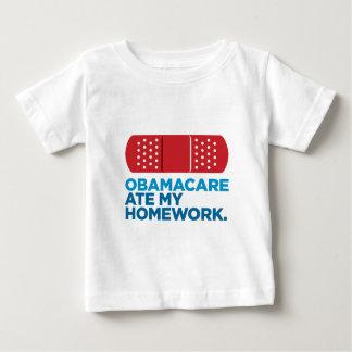 Obamacare Ate My Homework Baby T-Shirt