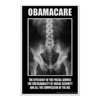 Obamacare atornilló posters