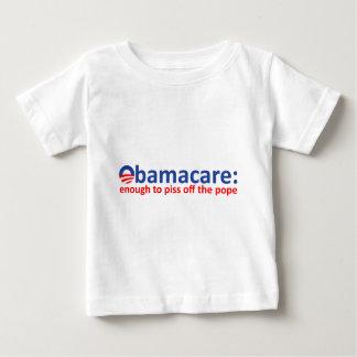 Obamacare: bastantes para piss apagado al papa playera de bebé