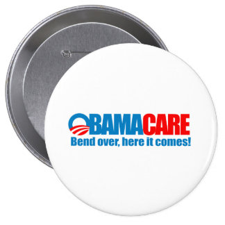 Obamacare - Bend over here it comes Button