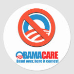Obamacare - Bend over here it comes Sticker