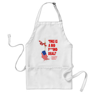 Obamacare Big Deal Hanging By A Thread Adult Apron