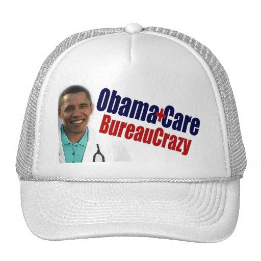 ObamaCare: BureauCrazy Gorros Bordados
