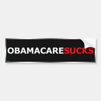 Obamacare chupa pegatina de parachoque