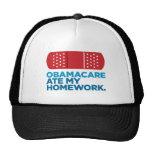 Obamacare comió mi preparación gorra
