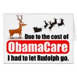 ObamaCare contra Rudolph Felicitación