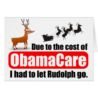 ObamaCare contra Tarjeta De Felicitación