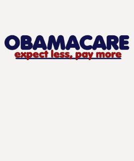 Obamacare cuenta con menos paga más playeras