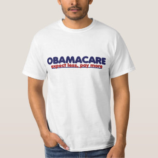 Obamacare cuenta con menos paga más remeras