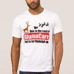 ObamaCare cuesta despido de la fuerza de Camiseta