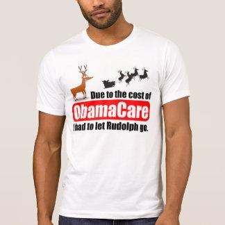 ObamaCare cuesta el despido de la fuerza de Rudolp Camiseta