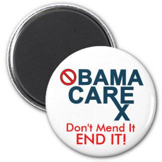 Obamacare:  Don't Mend It, END IT! Fridge Magnet
