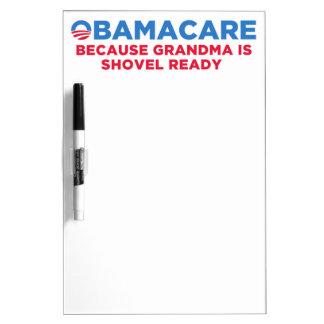 Obamacare Dry-Erase Board