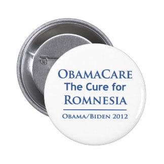 ¡Obamacare es la curación para Romnesia! Pin