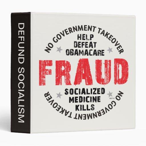 Obamacare Fraud Binders
