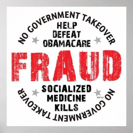 Obamacare Fraud Print