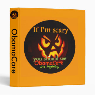 ObamaCare Halloween Avery Binder
