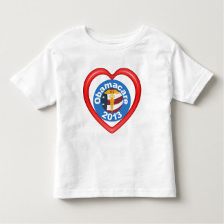 Obamacare Heart Kids T-shirt