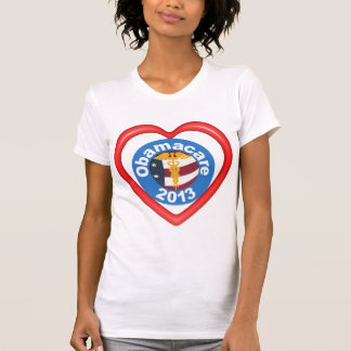 Obamacare Heart Womens T-shirt