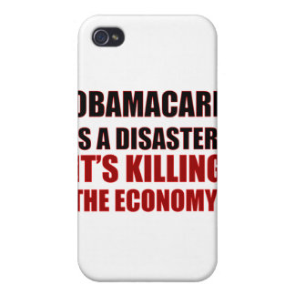 OBAMACARE IS A DISASTER IT'S KILLING THE ECONOMY iPhone 4/4S COVER