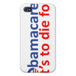 Obamacare: its to die for iPhone 4 case