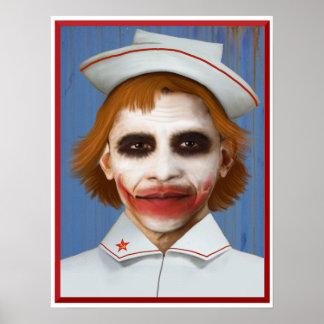 Obamacare Joker Nurse Poster