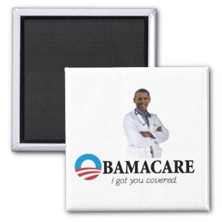 """""""Obamacare - le conseguí"""" el imán cubierto"""