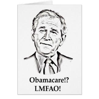 Obamacare LMFAO Card