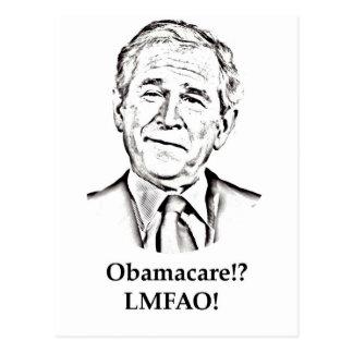 Obamacare LMFAO Postcard