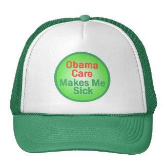 ObamaCare me hace el gorra enfermo