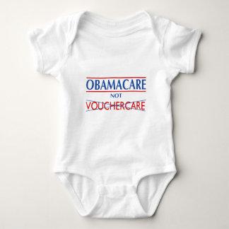 OBAMACARE  NOT  VOUCHERCARE BABY BODYSUIT