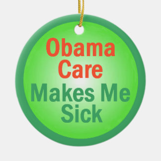 ObamaCare Ornament