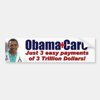 ObamaCare Pegatina Para Auto