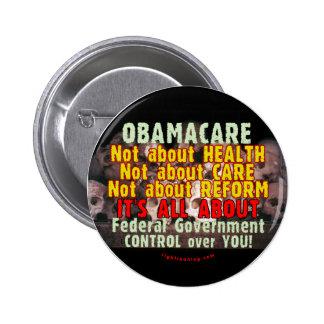 Obamacare Pin Redondo 5 Cm