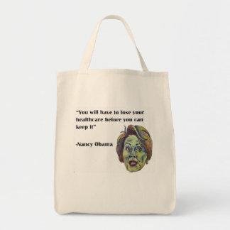 Obamacare Quote Tote Bag