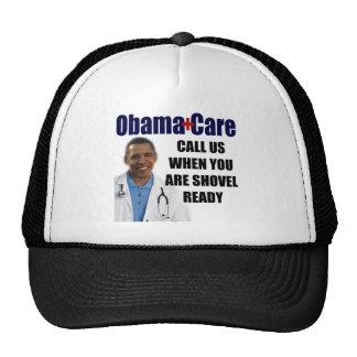 ObamaCare - Shovel Ready Hat