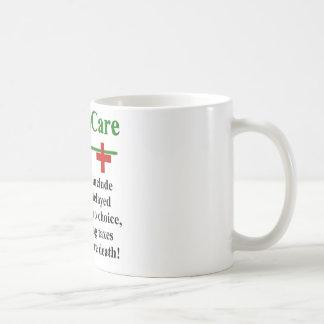 ObamaCare Side Effects Classic White Coffee Mug