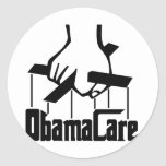 ObamaCare - Strings Attached Classic Round Sticker