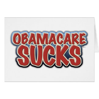 Obamacare Sucks Card