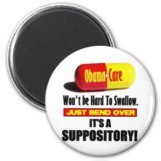 ObamaCare - Suppository Refrigerator Magnets