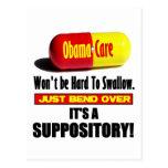 ObamaCare - Suppository Tarjeta Postal