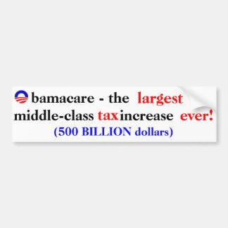 Obamacare Tax Car Bumper Sticker
