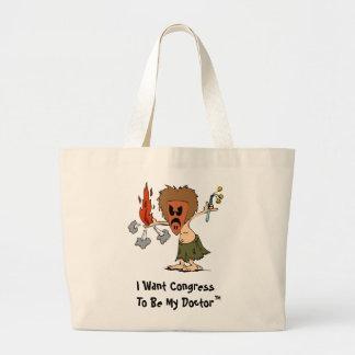 Obamacare Tote Canvas Bag