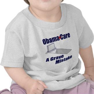 ObamaCare Un error grave Camiseta