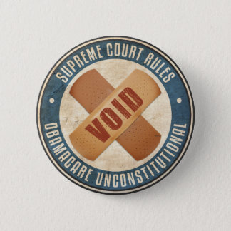 Obamacare Unconstitutional Button