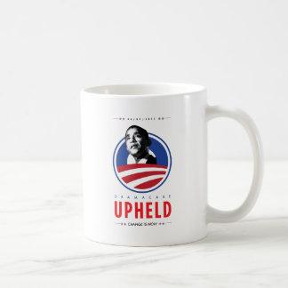 OBAMACARE UPHELD COFFEE MUG